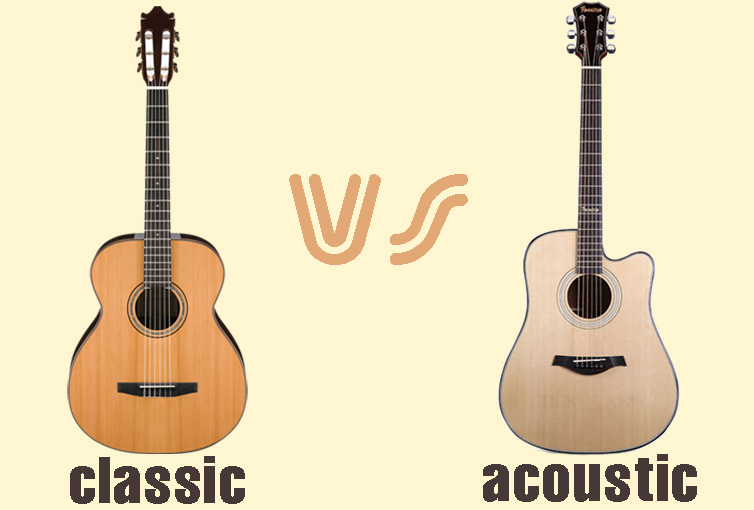 Guitar classic hay acoustic