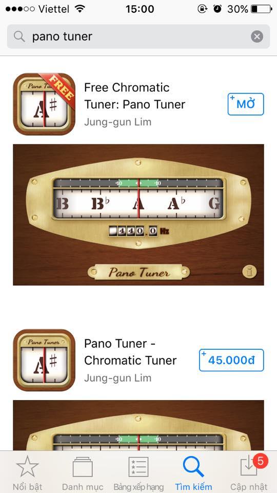 App Pano Tuner