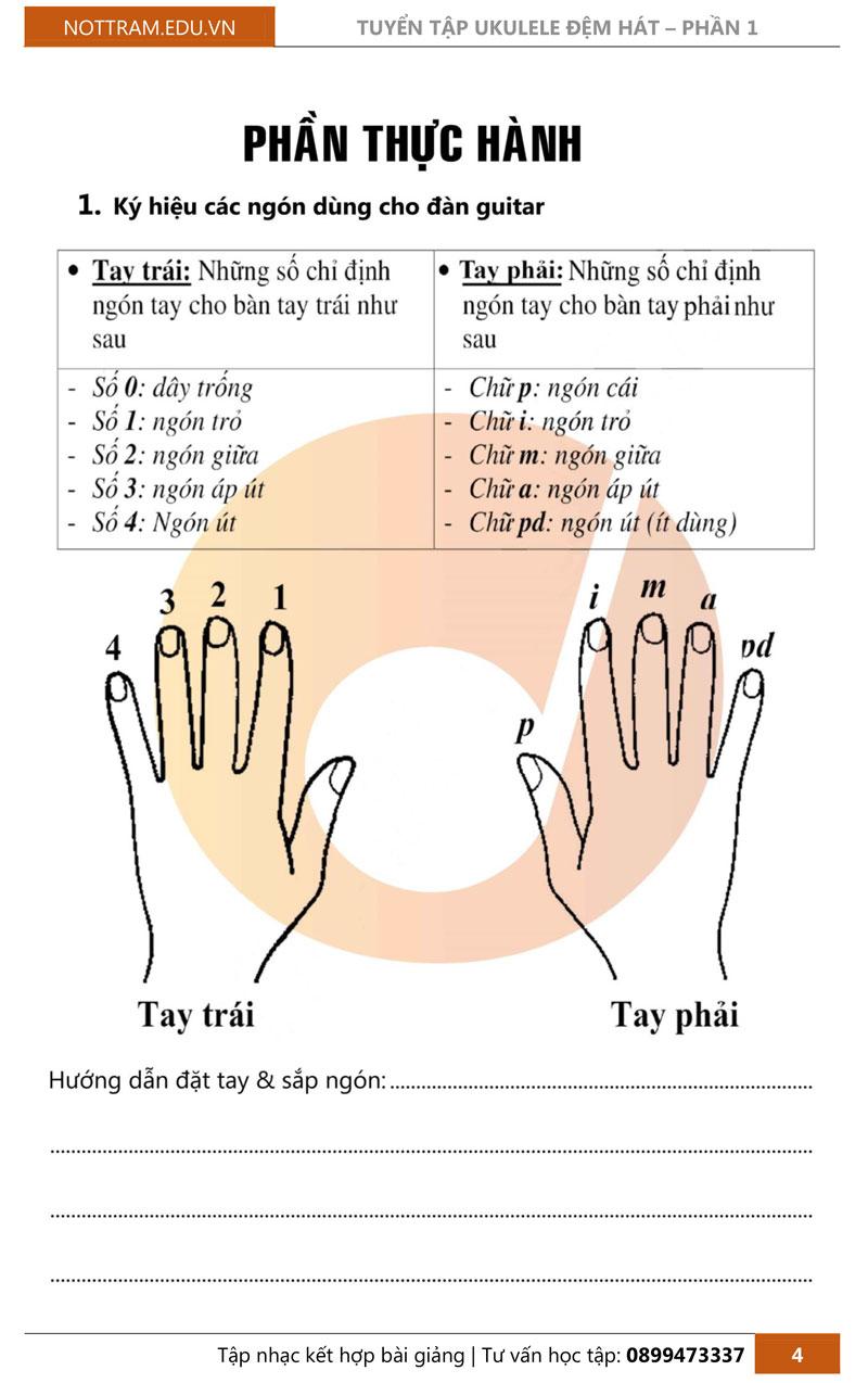 Giáo trình hướng dẫn tự học đàn Ukulele