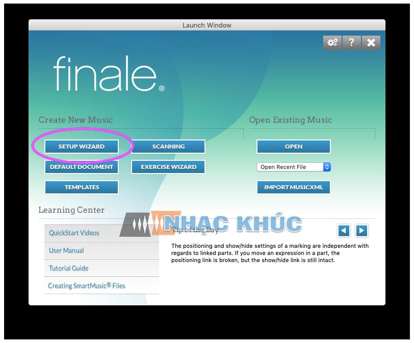 Hướng dẫn soạn nhạc trên phần mềm Finale