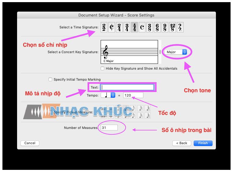 Hướng dẫn sử dụng phần mềm soạn nhạc Finale