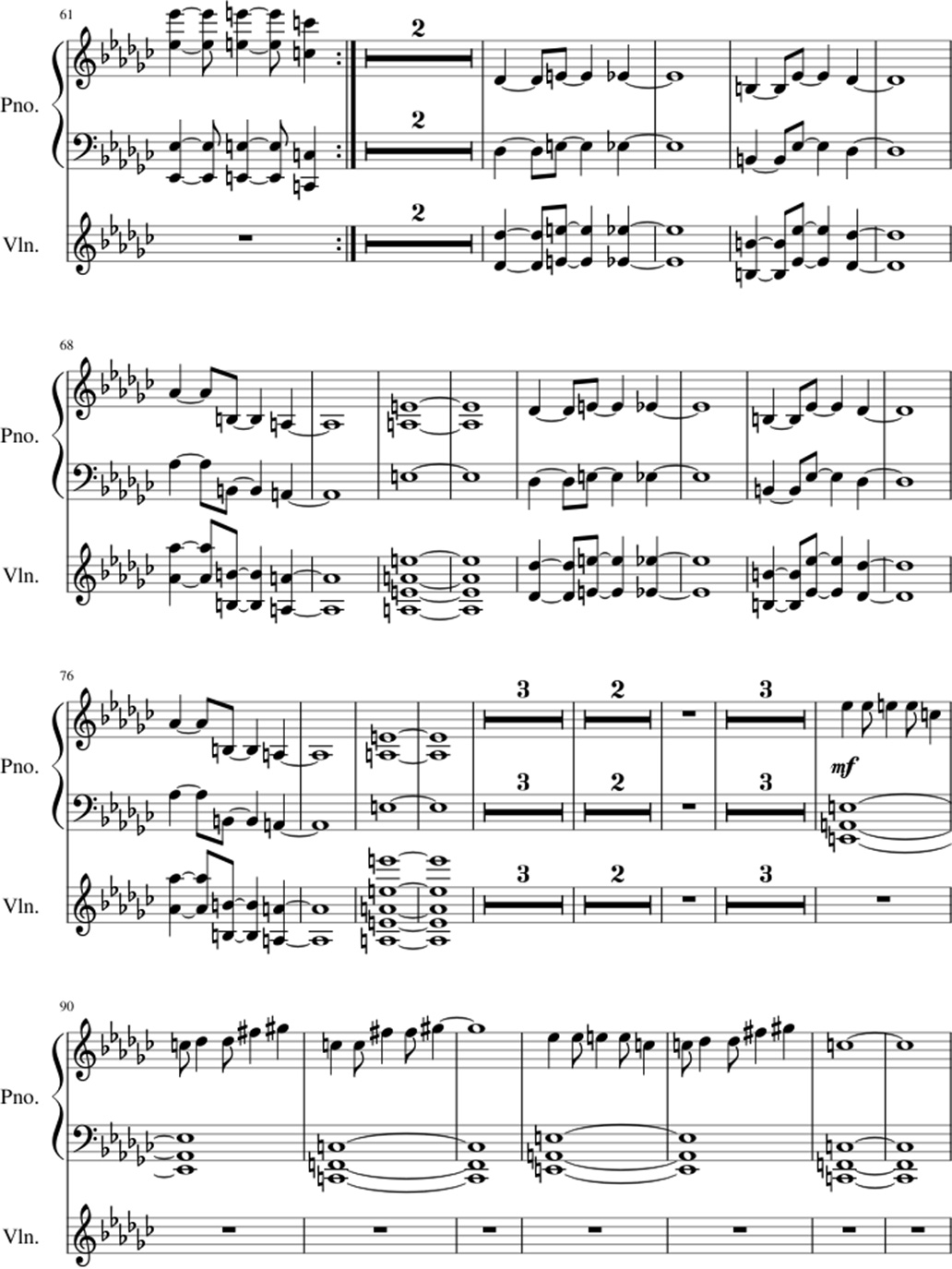 Old Souls sheet music notes 3