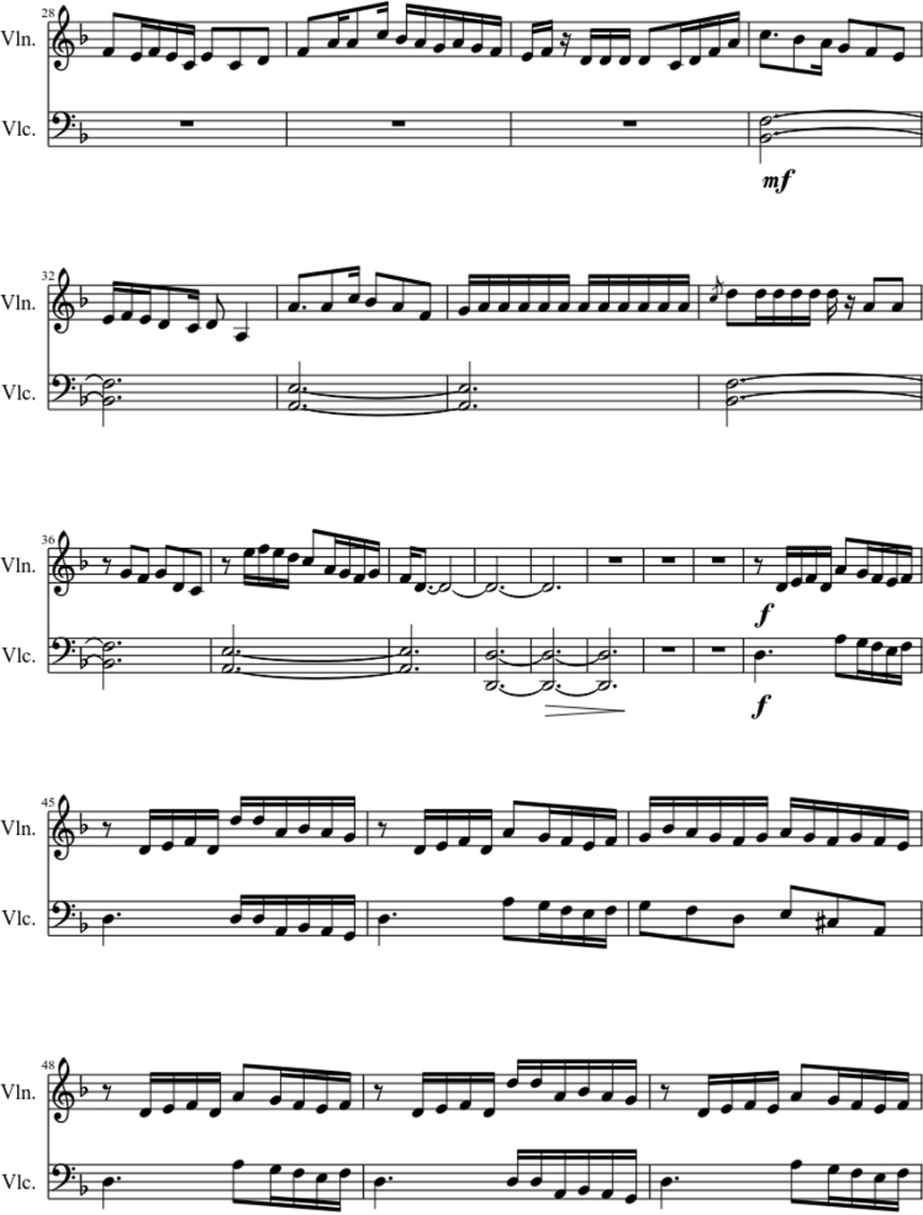 Red like roses sheet music notes 2