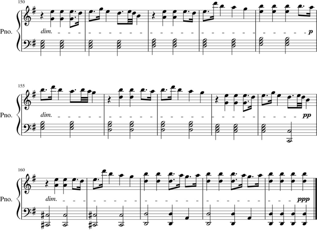 Unity sheet music notes 7