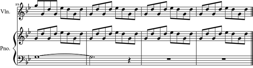 What I've done sheet music notes 6